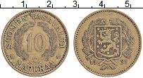 Изображение Монеты Финляндия 10 марок 1931 Латунь XF
