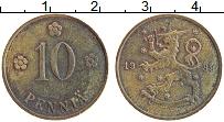 Изображение Монеты Финляндия 10 пенни 1939 Медь XF Герб