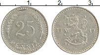 Изображение Монеты Финляндия 25 пенни 1940 Медно-никель XF