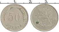 Изображение Монеты Финляндия 50 пенни 1935 Медно-никель XF Герб