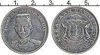 Изображение Монеты Бруней 50 сен 2010 Медно-никель UNC- Султан Хаджи Хассана
