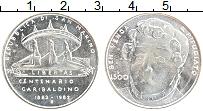 Изображение Монеты Сан-Марино 500 лир 1982 Серебро UNC- 100 лет со дня смерт