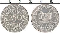 Изображение Монеты Суринам 250 центов 1989 Медно-никель UNC-