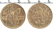 Изображение Монеты Чехия 20 крон 1999 Латунь XF