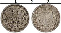 Изображение Монеты Сан-Марино 50 сентим 1898 Серебро XF