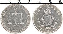 Продать Монеты Момбаса 1 рупия 1888 Серебро