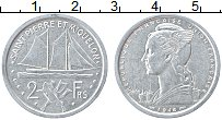 Изображение Монеты Сен-Пьер и Микелон 2 франка 1948 Алюминий XF