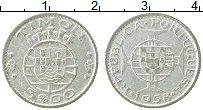 Изображение Монеты Тимор 3 эскудо 1958 Серебро VF Португальский
