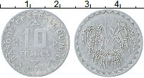 Изображение Монеты Мали 10 франков 1976 Алюминий VF
