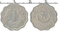 Изображение Монеты Турция 1 куруш 1942 Медно-никель VF