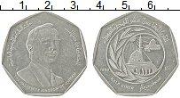 Изображение Монеты Иордания 1/2 динара 1980 Медно-никель XF 1400 лет Хиджры