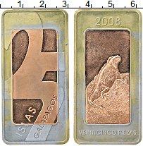 Изображение Монеты Эквадор Галапагосские острова 25 пиеза 2008 Биметалл XF