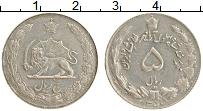 Изображение Монеты Иран 5 риалов 1979 Медно-никель XF