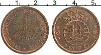 Изображение Монеты Тимор 1 эскудо 1970 Медь XF