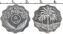 Изображение Монеты Ирак 5 филс 1981 Медно-никель UNC- Пальмы