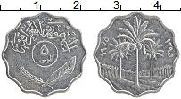 Изображение Монеты Ирак 5 филс 1975 Медно-никель XF Пальмы