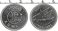 Изображение Монеты Кувейт 100 филс 2012 Железо UNC-