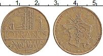 Изображение Монеты Франция 10 франков 1975 Медь XF Завод