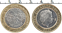 Изображение Монеты Фолклендские острова 2 фунта 2004 Биметалл UNC-
