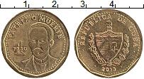 Продать Монеты Куба 1 песо 2012 Латунь