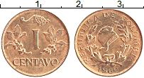Изображение Монеты Колумбия 1 сентаво 1969 Бронза UNC-
