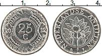 Изображение Монеты Антильские острова 25 центов 2012 Медно-никель UNC-
