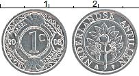 Изображение Монеты Антильские острова 1 цент 2003 Алюминий UNC-