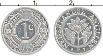 Изображение Монеты Антильские острова 1 цент 1993 Алюминий UNC-