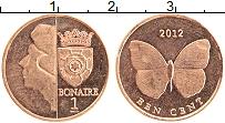 Продать Монеты Бонайре 1 цент 2012 Медь