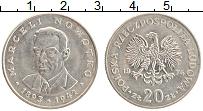 Изображение Монеты Польша 20 злотых 1974 Медно-никель XF