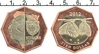 Продать Монеты Бонайре 10 долларов 2012 Биметалл