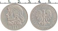 Изображение Монеты Польша 10 злотых 1970 Медно-никель XF