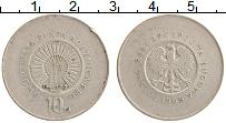Изображение Монеты Польша 10 злотых 1969 Медно-никель XF