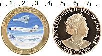 Изображение Монеты Остров Мэн 1 крона 2018 Медно-никель Proof Елизавета II. Цифров