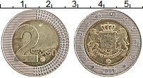 Изображение Монеты Грузия 2 лари 2006 Биметалл XF