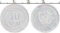 Изображение Монеты Армения 10 драм 2004 Алюминий XF