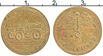 Изображение Монеты Германия Жетон 0 Латунь XF Игровой жетон. Форту