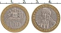Изображение Монеты Чили 100 песо 2012 Биметалл XF