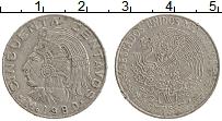 Изображение Монеты Мексика 50 сентаво 1980 Медно-никель XF