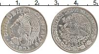 Изображение Монеты Мексика 50 сентаво 1975 Медно-никель XF