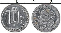 Изображение Монеты Мексика 10 сентаво 1994 Медно-никель UNC-