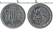 Изображение Монеты Мексика 10 сентаво 2009 Медно-никель UNC-