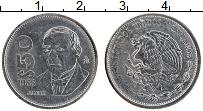 Изображение Монеты Мексика 50 песо 1988 Медно-никель XF