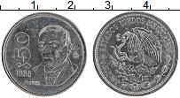 Изображение Монеты Мексика 50 песо 1988 Медно-никель XF Бенито Хуарес