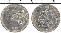 Изображение Монеты Мексика 5 песо 1981 Медно-никель XF
