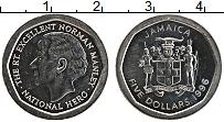 Изображение Монеты Ямайка 5 долларов 1996 Медно-никель UNC-