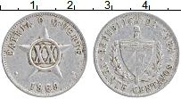 Изображение Монеты Куба 20 сентаво 1969 Алюминий XF