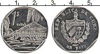 Изображение Монеты Куба 1 песо 2007 Медно-никель UNC-