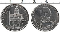 Изображение Монеты Парагвай 1000 гуарани 2008 Медно-никель UNC-