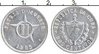 Изображение Монеты Куба 2 сентаво 1983 Алюминий UNC-